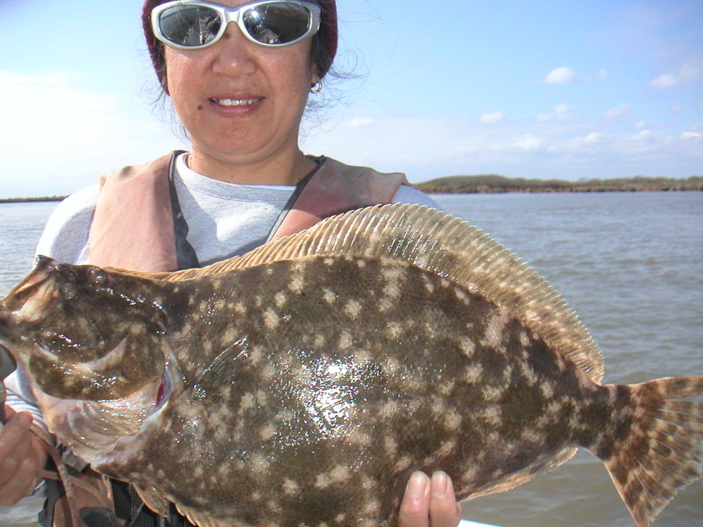 Sargent Texas Flounder caught in Canal