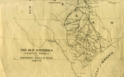 Chisolm Trail Map