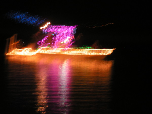 Boat Parade in Sargent