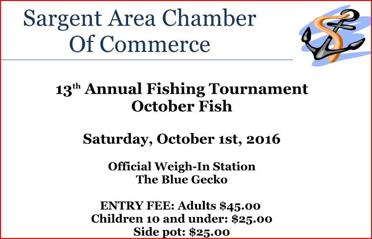 sargent chamber of commerce Fish Sargent Doug Stahl